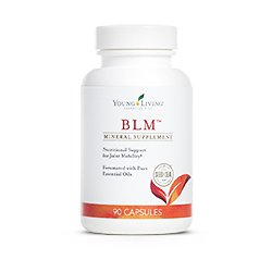 BLM Essential Oil Supplement with MSM 90 Capsules