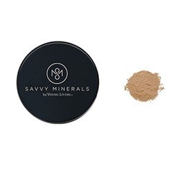 Savvy Foundation Powder Natural Mineral Makeup Dark No 1 by Young Living