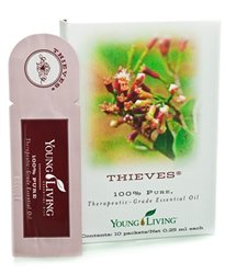 Thieves Essential Oil Sample Packs